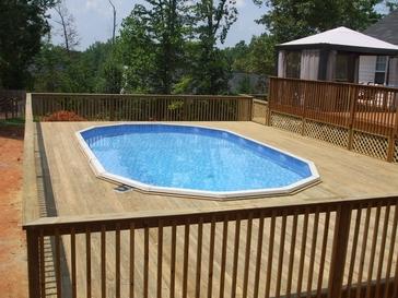 General Contractor Azteca Outdoor Atlanta Ga Decks For Pools
