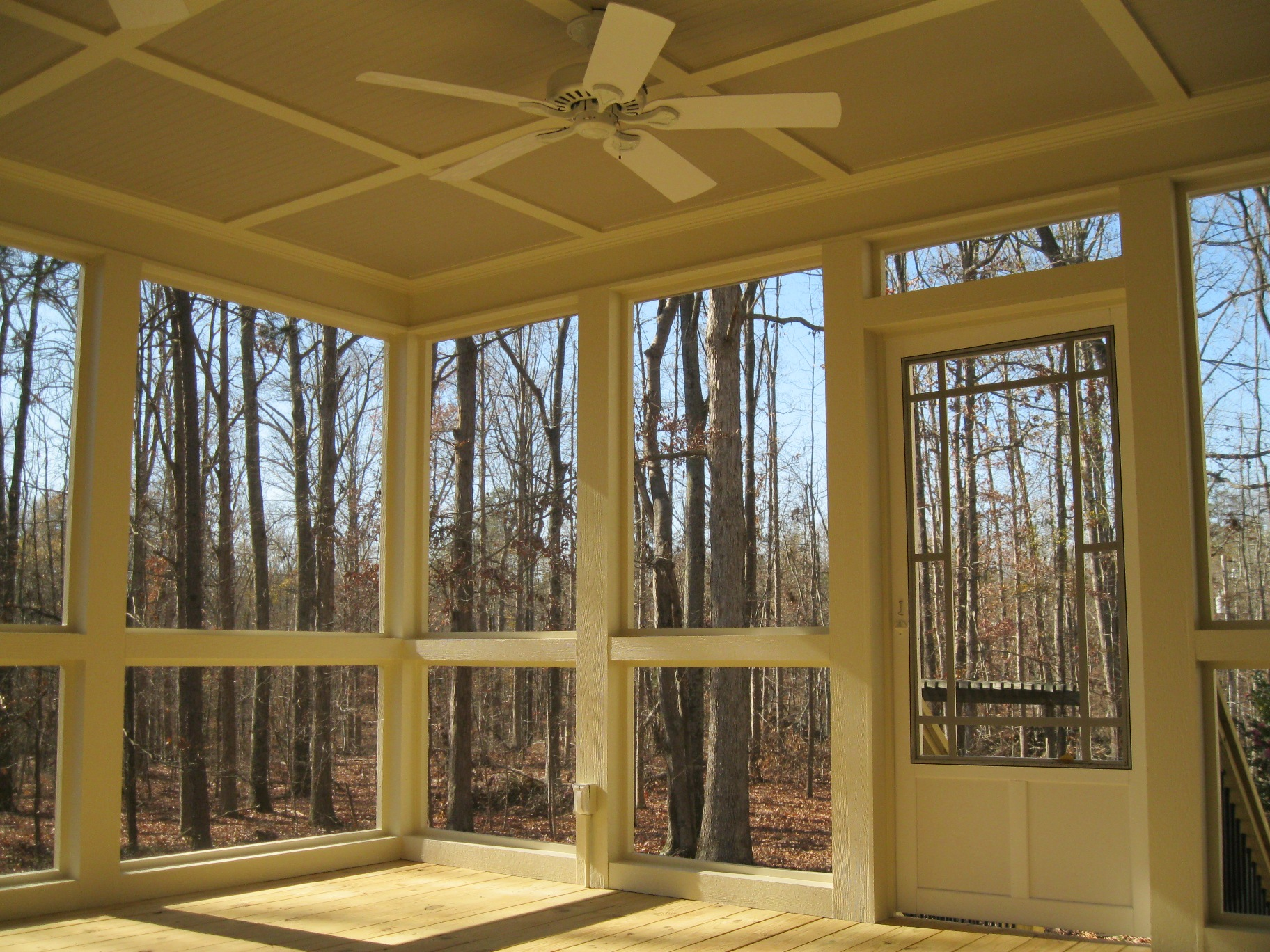 notched insect by panels products screenbroadview screens broadview in kirkwood custom screened made porch screen with